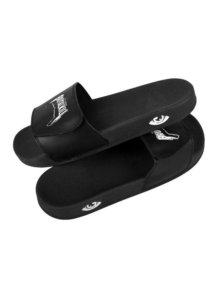 Chinelo Slide - Metal na internet