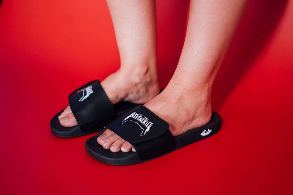 Imagem do Chinelo Slide - Metal