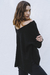 Maxi Sweater negro en internet
