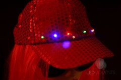 GORRA CAP LED - Led Moments