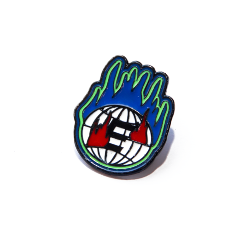 E WORLD PIN