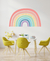 Vinilo Arcoiris multicolor Pastel Blog Chic Kids