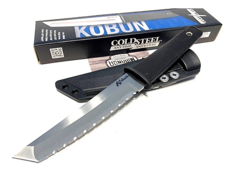 COLD STEEL Cuchillo Tanto KOBUN Dentado ORIGINAL