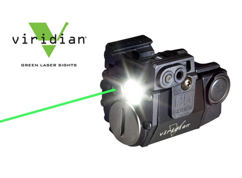 VIRIDIAN Linterna y Laser Verde C5L Original MADE IN USA