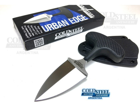 COLD STEEL Cuchillo URBAN EDGE Filo Liso ORIGINAL