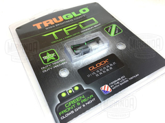 TRUGLO Miras TFO Tritium y Fibra Optica Para Glock 17 19 22 23 34 35 MADE IN USA