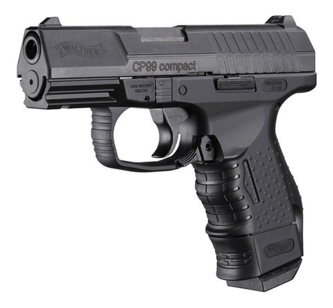 Pistola Co2 Walther Cp99 Compact Cal 4,5mm Metalica Blowback