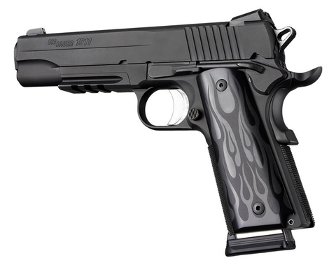 HOGUE Cachas Colt 1911 Modelo Llamas Aluminio MADE IN USA