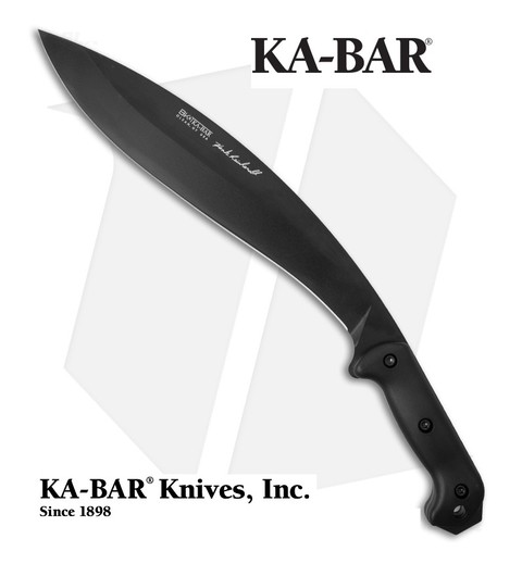 KA-BAR Cuchillo Becker BK21 REINHARDT KUKRI MADE IN USA