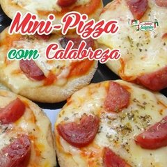 Mini Pizza Calabresa Goiânia