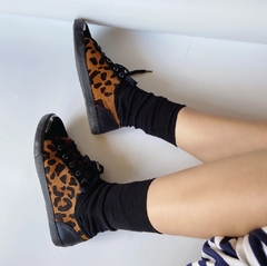Tenis leopardo Nine West - comprar online