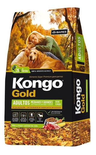 Kongo Gold Adulto