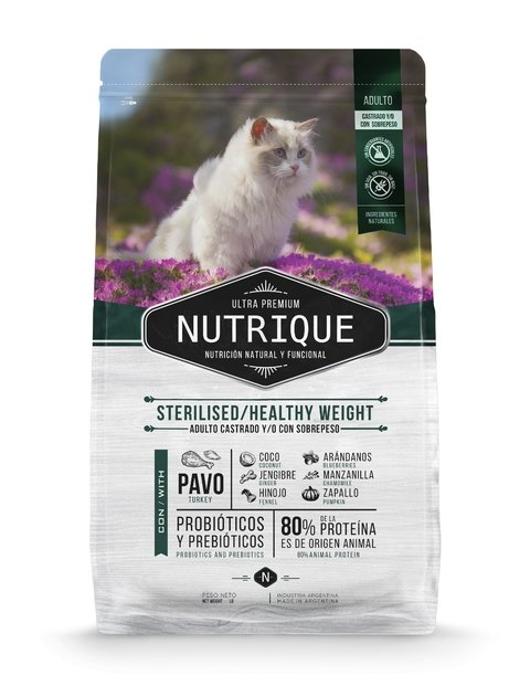Nutrique Young  Adulto Cat Sterilizado / Weight Control