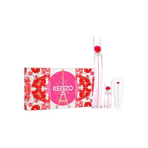 Flower By Kenzo Poppy Bouquet EDP 100 ml + EDP 15 ml + Body Lotion 75 ml - Eau de Parfum