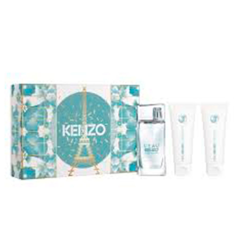 L´kenzo Woman EDT 50 ml + Shower Gel 75 ml + Body Jelly 75 ml - Eau de Toilette