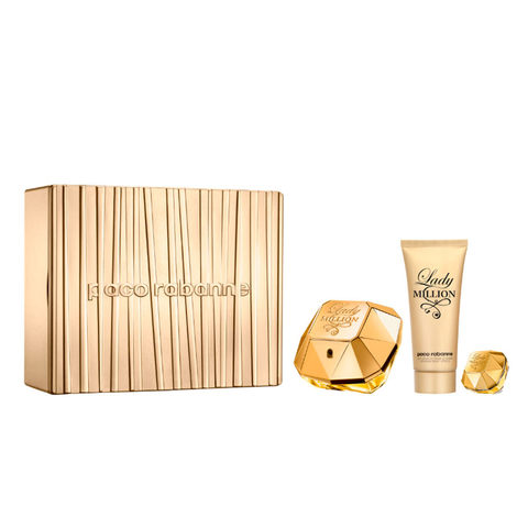 Lady Million EDP 80 ml + EDP 5 ml + Body Lotion 100 ml - Eau de Parfum