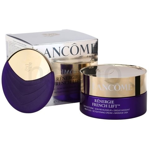 Rénergie French Lift Duo Nocturne - Soin Rehausseur+Disque Massant - Cream