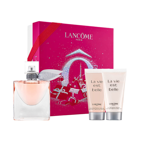 La Vie Est Belle EDP 50 ml + Body Lotion 50 ml + Shower Gel 50 ml - Eau de Parfum