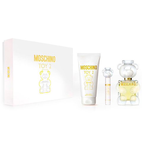 Moschino Toy 2 EDP 100 ml + EDP 10 ml + Body Lotion 150 ml - Eau de Parfum