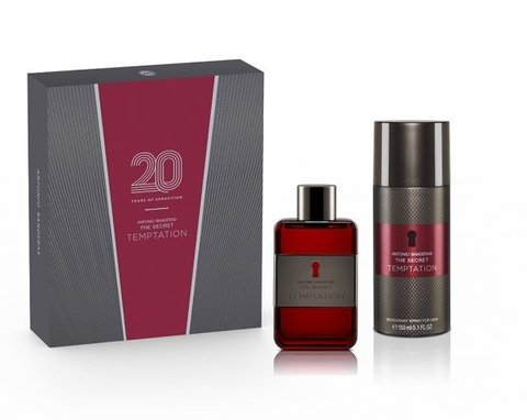 The Secret Temptation Edt 50 ml + Deodorant 150 ml - Eau de Toilette