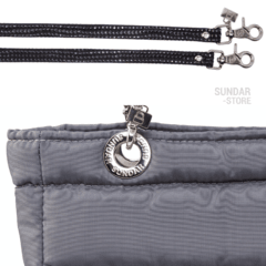 GRAY SUNDAR, TOP ZIPPER, SHOULDER BAG