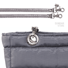 GRAY SUNDAR, TOP ZIPPER, SHOULDER BAG - online store