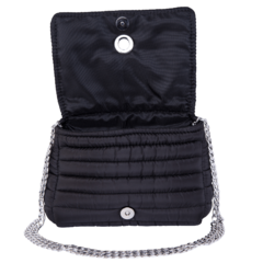 ANDREA CROSSBODY BLACK WITH TWO STRAPS (CHAIN STRAP/ ADJUSTABLE STRAP) - online store