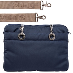 Image of NAVY BLUE 15-INCH SUNDAR LAPTOP BAG