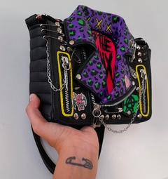 Cartera Campera Up the Punx! - Gabbie Custom Art