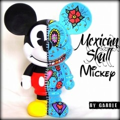 Mexican Skull Mickey Art Toy