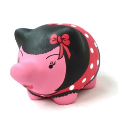 Chanchito Alcancia Pin Up - comprar online