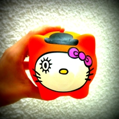 Chanchito Alcancia Hello Kitty Disfrazada (Modelos a Eleccion) - Gabbie Custom Art