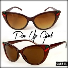 Anteojos Importados Pin Up Girl Brown Eyewear - comprar online