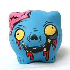 Chanchito Alcancia Blue Zombie en internet