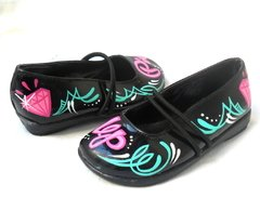 Baby Pin Up Pinstriping Shoes - Gabbie Custom Art