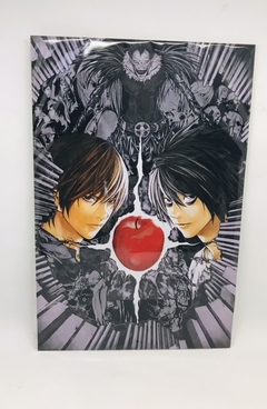 Placa Death Note maça