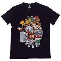 Camiseta Basica Super Mario- Bowser's Fight