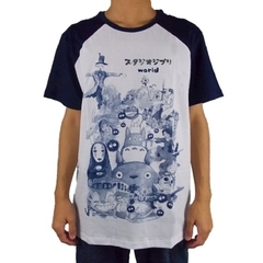 Camiseta Studio Ghibli World Especial