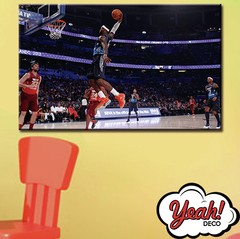 CUADRO DE LONA RECTANGULAR LEBRON JAMES #5