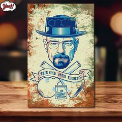 CHAPA BREAKING BAD CODIGO #6 - comprar online