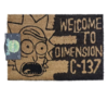Limpiapies Rick And Morty: Dimension C-137