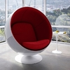 Silla Ball Chair: Rojo (PREVENTA)