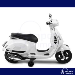 Moto Vespa A Bateria Piaggio 12v Mp3 Usb Scooter Antigua