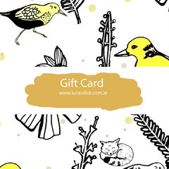 Gift Card Naturaleza $2500