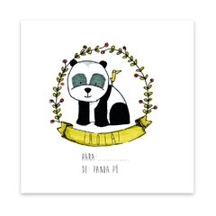 Stickers Panda x 24 en internet