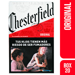 CHESTERFIELD RED BOX 20