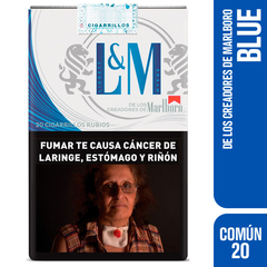 L&M BLUE LABEL 20