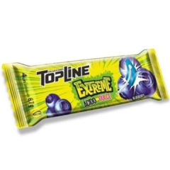 Chicle Topline Extreme Acido Dulce