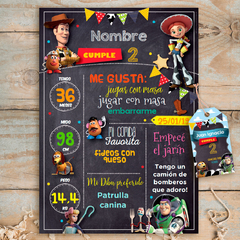 Kit Toy Story. Imprimible Personalizable - CocoJolie Kits Imprimibles