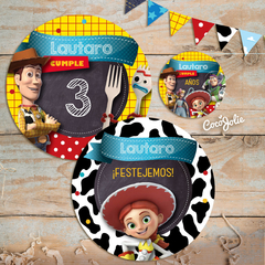 Kit Toy Story. Imprimible Personalizable - tienda online